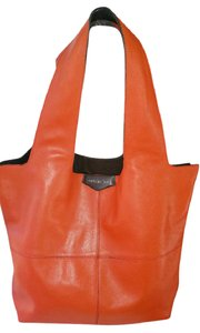 Givenchy Lambskin Leather Tote in Red and Brown