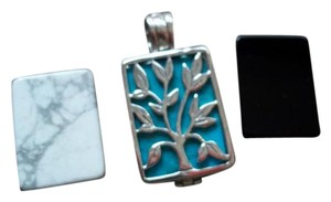 Silpada Silpada Interchangeable CHANGING pendant includes 3 inserts - 50% off