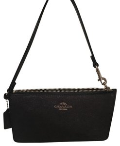 Coach Wristlet in black glitter