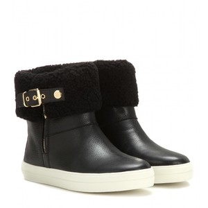 Burberry Sneaker Skillman Weather Snow Black Boots
