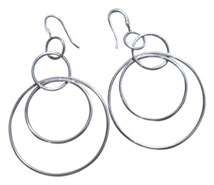 Silpada Silpada Sterling Silver Space Out Circles Earrings - 50% off