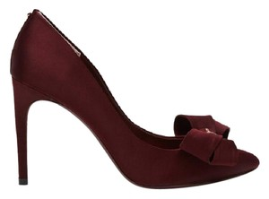 Ted Baker Pump Satin MAROON Pumps