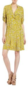 BCBGMAXAZRIA short dress Dill combo on Tradesy