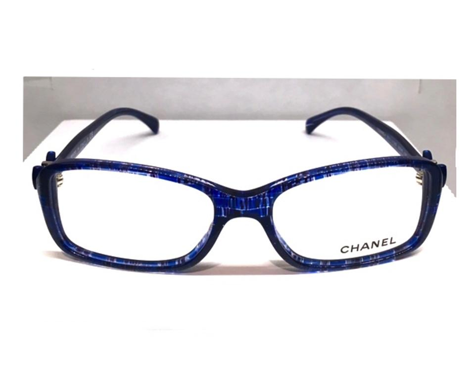0bef2a286fab8 Chanel CH 3211 1262 - BEAUTIFUL BLUE TWEED GLASSES - FREE 3 DAY SHIPPING  Image 0 ...