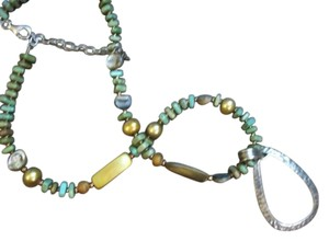 Silpada Retired Blue-Green Sterling silver Silpada Necklace - 50% off