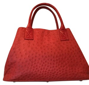 Bergdorf Goodman/ Summer Tote Tote in Coral