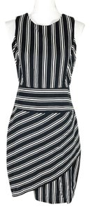 Anthropologie short dress Navy and White on Tradesy