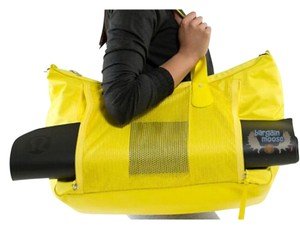 Lululemon Yellow Travel Bag