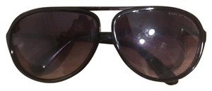 Marc by Marc Jacobs Marc By Marc Jacobs Black Aviator Sunglasses