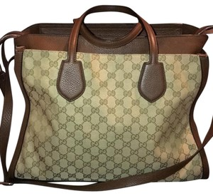 Gucci Satchel in New Sand/Nut Brown