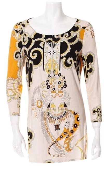 Emilio Pucci Top yellow and beige