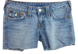 True Religion Blue Shorts