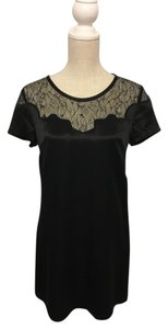 MM Couture Lace Silk Shift Miss Me Dress