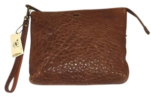 Will Leather Goods Wristlet in Brown