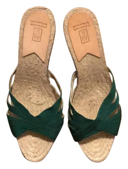 Preload https://img-static.tradesy.com/item/20488446/stubbs-and-wootton-emerald-kelly-rib-wedges-size-us-9-regular-m-b-0-1-540-540.jpg