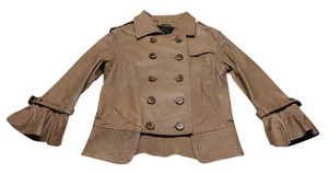 Alpha Luxe Leather Real Leather 100 % Genuine Leather Vintage khaki Leather Jacket