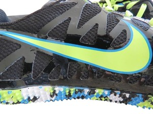 Nike Black Blue Turq Athletic