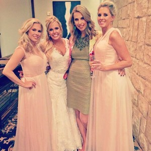 Watters Nude Walters Bridesmaid Dress Dress