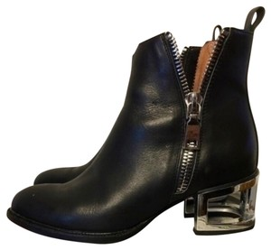 Jeffrey Campbell Black with silver hardware Boots