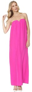 Pink Maxi Dress by Alice & Trixie Maxi Silk Neon