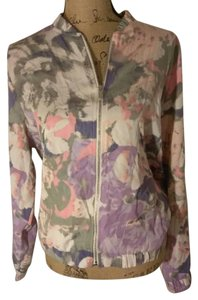 Juicy Couture Pink Grey Purple Creme Jacket