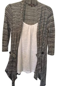 Almost Famous Clothing Top GRey