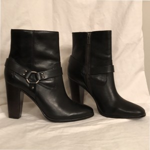 Frye Ankle Zipper Closure Leather New/nwt Black Boots