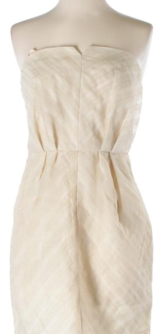 Item - Cream Bcbg Short Cocktail Dress Size 4 (S)