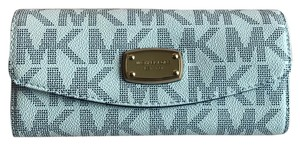 Michael Kors Signature Slim Flap Wallet