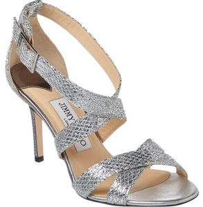 Jimmy Choo silver Pumps