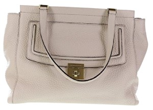 Kate Spade Thatcher Leather Tote in PEBBLE