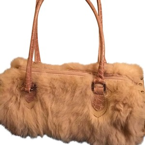 Guia's Satchel in beige and tan