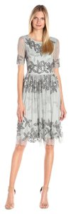 Adrianna Papell Beaded Floral Bridesmaid Dress