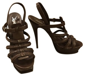 Saint Laurent Dark brown Sandals