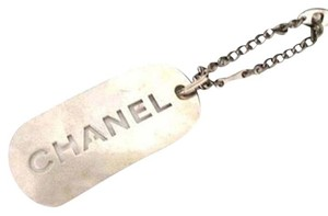Chanel Dog Tag Key Chain CCTLM12
