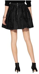Kate Spade Dress Cupcake Jacquard Mini Skirt black