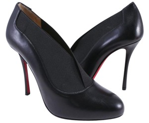 Christian Louboutin Toot Booties Elastic Heels black Pumps