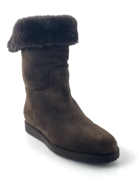Item - Brown Suede Mid-calf Boots/Booties Size US 5 Regular (M, B)