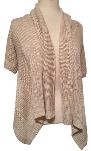 Forever 21 Short Sleeve Open Front Loose Knit Cardigan