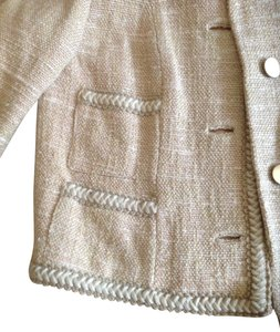 Renlyn cream with peachy tone tweed Blazer