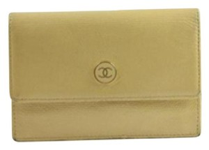 Chanel Caviar Button Wallet 79CCA723