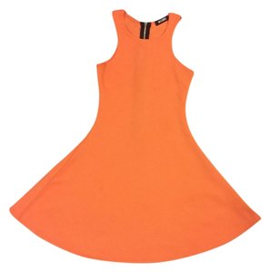 Missguided short dress Orange on Tradesy