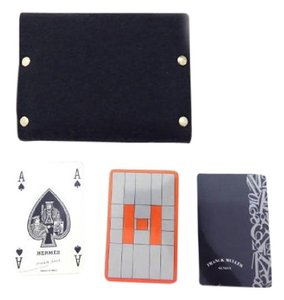 Hermès Eveleyne Pouch w/ Playing Cards 208335