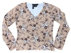 Michelle Nicole Floral Embellished Embellishments Sweater