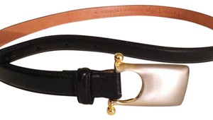 Olga vintage Olga santini genuine leather unique belt