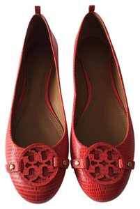 Tory Burch Miller Leather Melon Flats