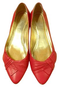 Nine West dark pink Flats