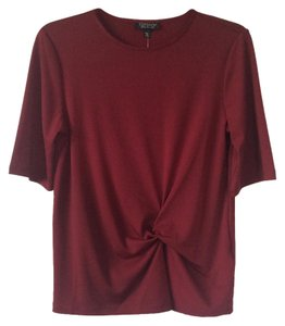 Topshop Top Wine red