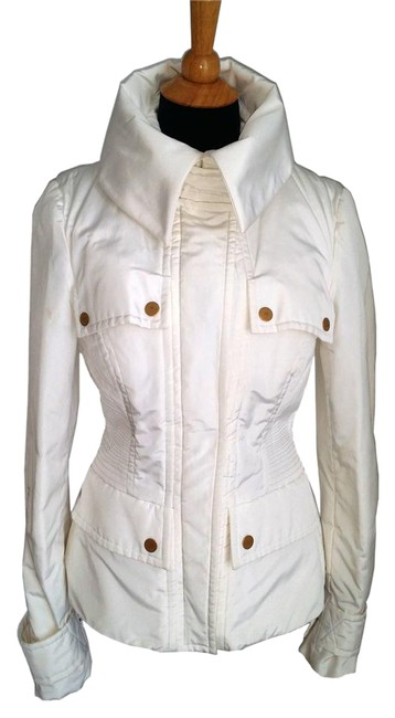 Item - White Ski with Removable Fur Lining Jacket Size 10 (M)