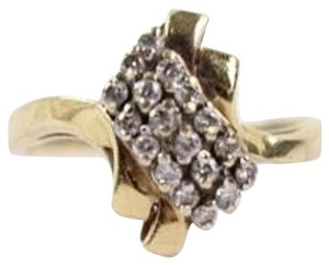 Other 14k Gold Diamond Ring Size